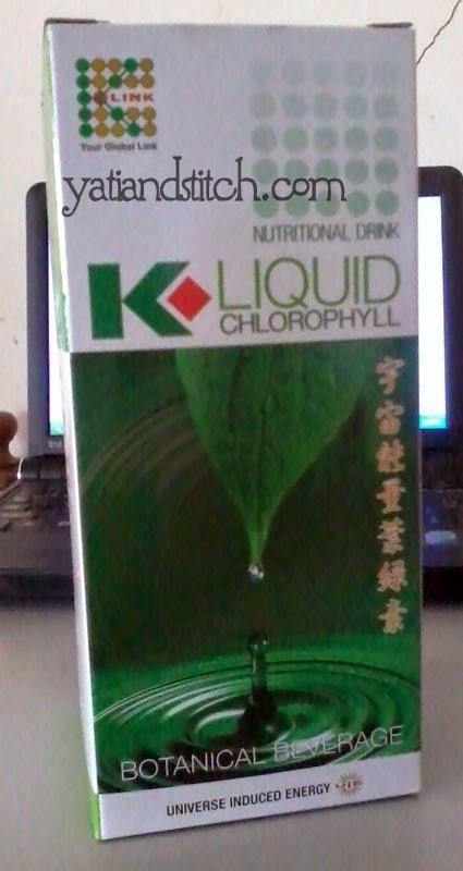 Saya jual Liquid Chlophyll