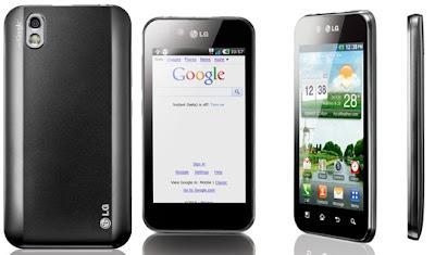 Spesifikasi Dan Harga Hp LG Optimus Black P970 Lengkap