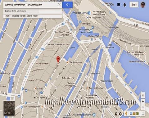 达姆拉克街地图