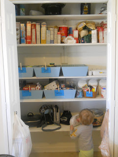 before and after kitchen organization