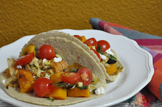 Tacos with Roasted Vegetables