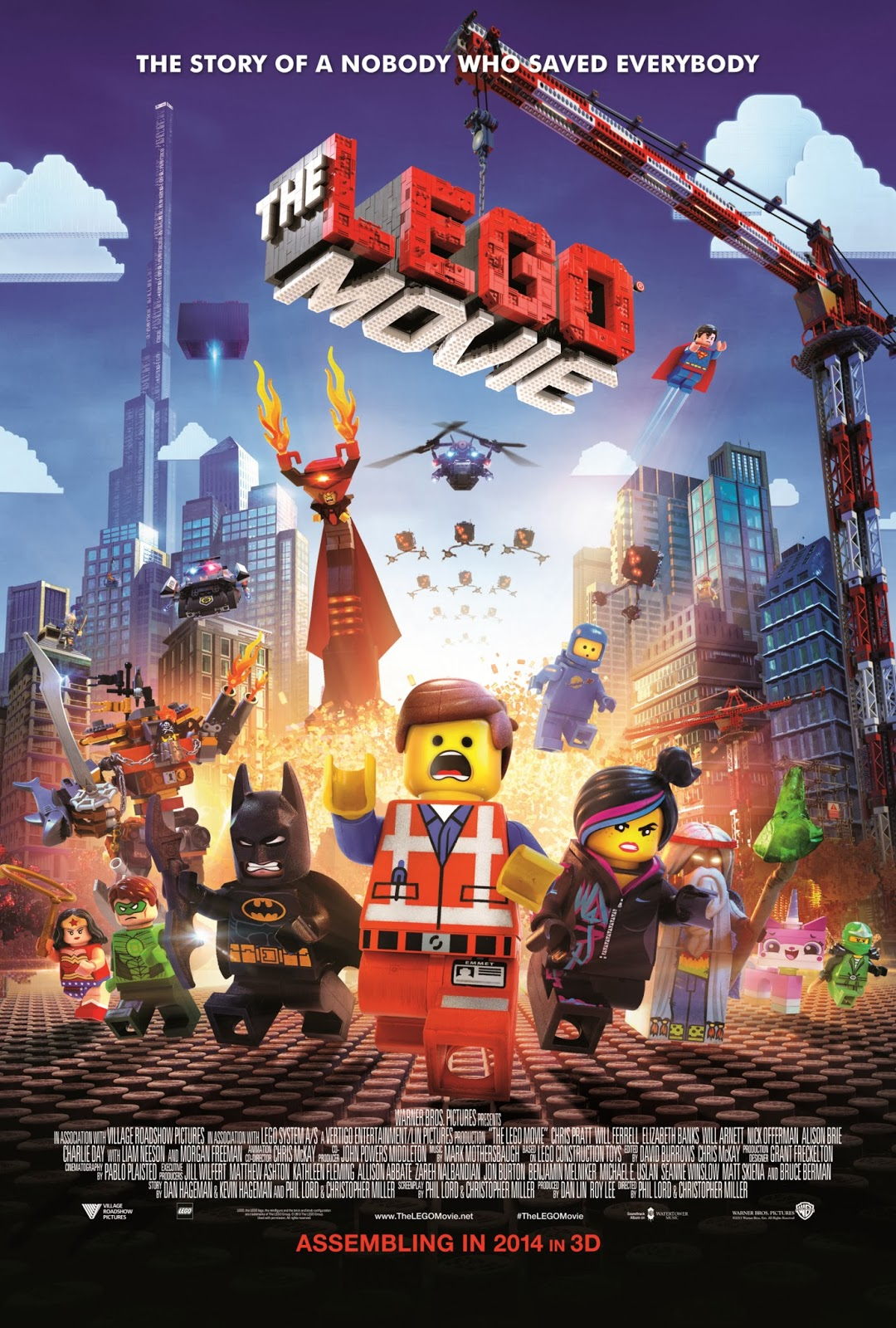 Movie stills & posters: THE LEGO MOVIE ...