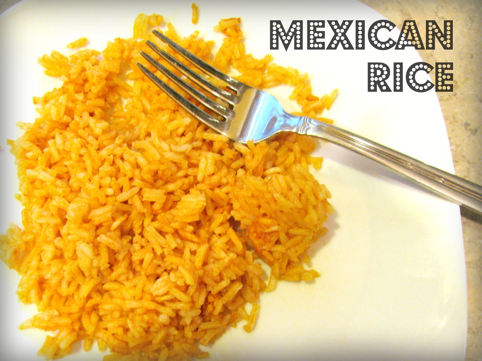 Mexican Yellow Rice Mexican rice