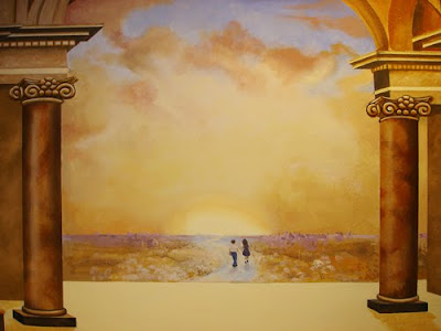 great painters in history - classical realism art - classical mural