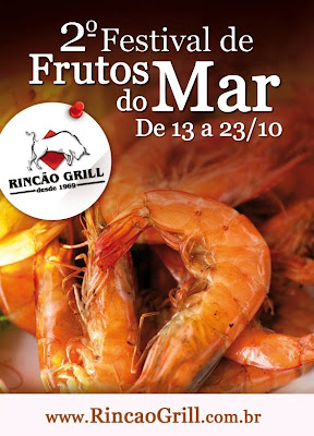 Rincão Grill: 2º Festival de Frutos do Mar