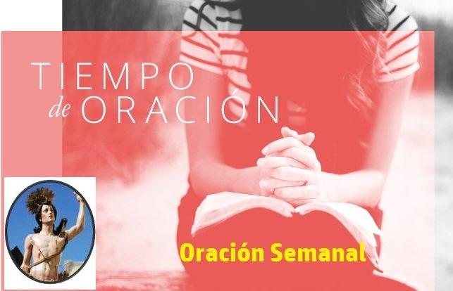 ORACIÓN DE LA SEMANA.