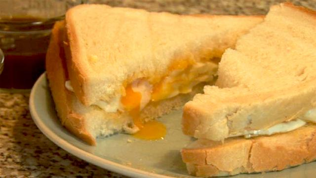 Buckland: Fried egg sandwich = good for the soul