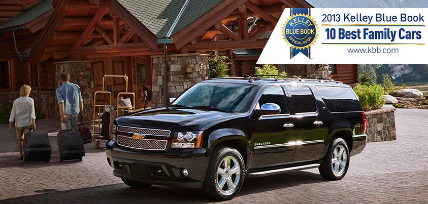 2013 Chevrolet Suburban Named Best Family Car By KBB.com