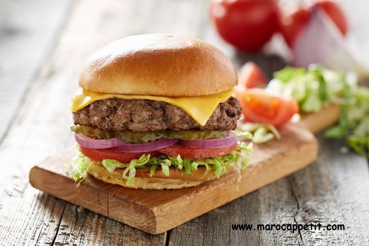 Cheeseburger marocain