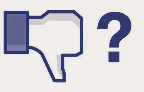 Podría haber no me gusta en Facebook
