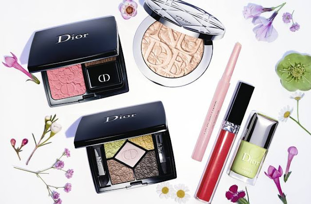 Dior Glow Gardens Spring 2016 Makeup Collection