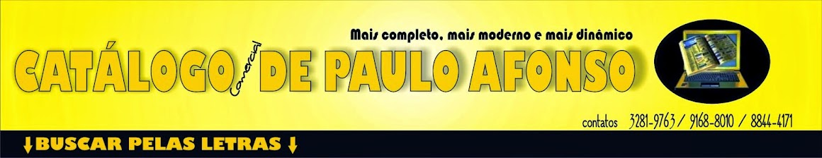 Catalogo de Paulo Afonso