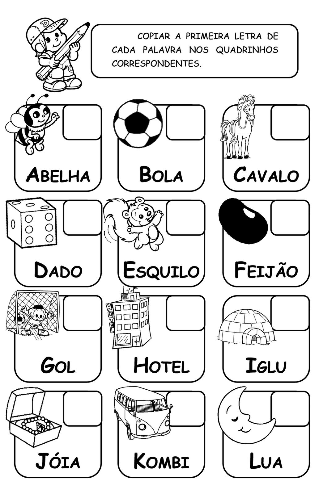 Espaço Saber Infantil: Mais um alfabeto ilustrado #666665 1032 1600