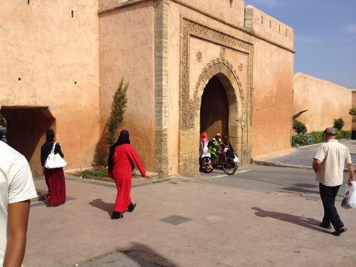 Porta Bab Chellah nella medina di Rabat