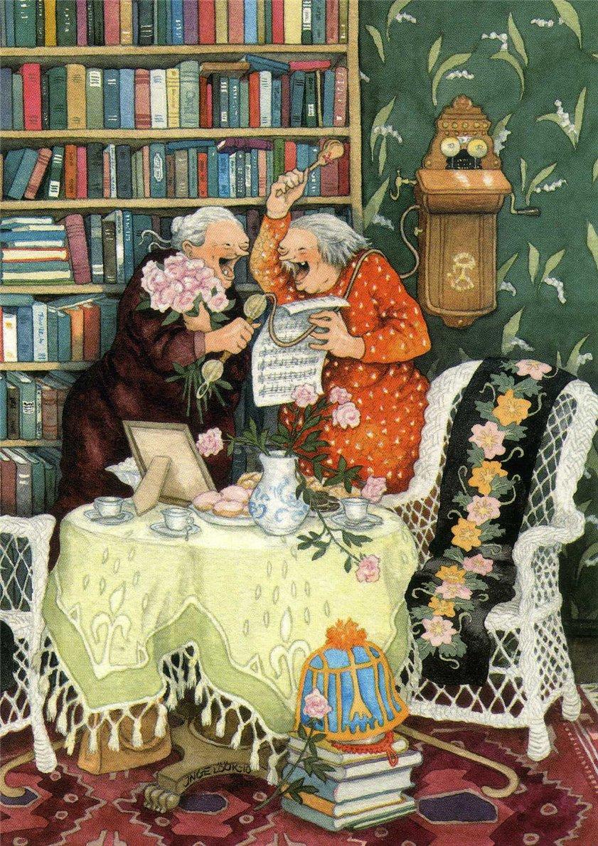 Старые бабушки и иж внуки фото 23 фотография