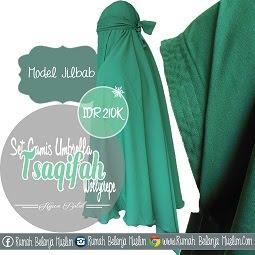 Jilbab Oval - Gamis Semi Umbrella