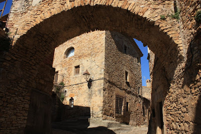 Medieval village of Peratallada in La Costa Brava