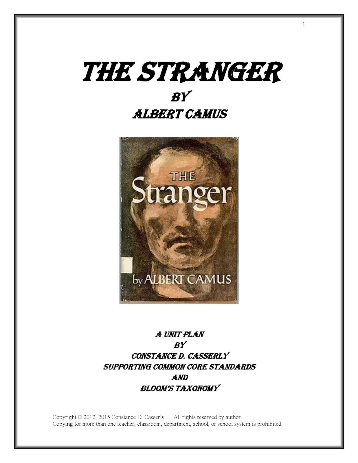 "the stranger camus essay Albert camus (1913—1960) sartre, in his essay-review of the stranger provides an additional gloss on the idea: ""the absurd, to be sure."
