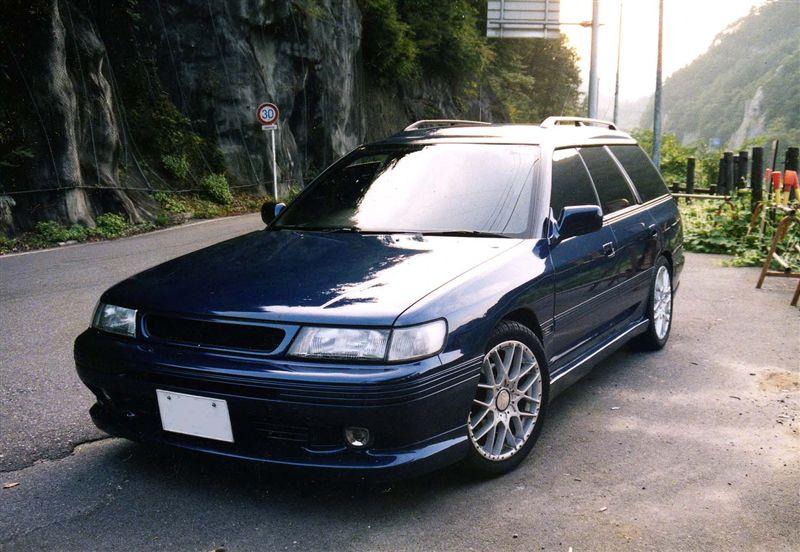 Subaru Legacy I-gen. 1989 1993 BC, BJ, BF, 日本車 チューニングカー スバル japoński samochód kombi boxer tuning zdjęcia