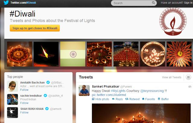 Diwali Twitter