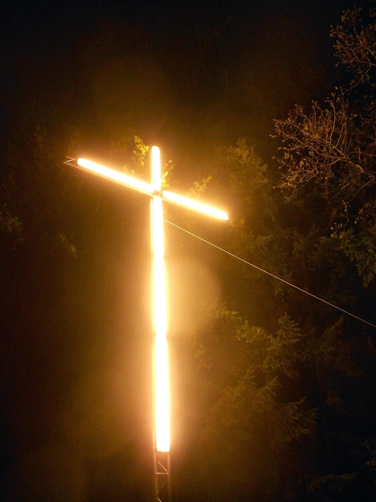 Foto der Woche: eine leuchtende Erscheinung im Sauerland