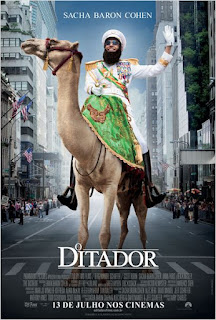 """Poster do filme """"O Ditador"""""""