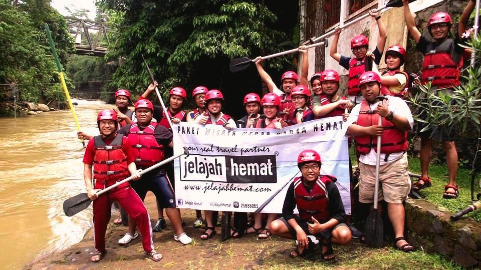 Paket Arung Jeram Rafting Citarik Cicatih Hubungi Jelajah hemat 021 4446 2225