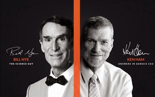 bill nye ken ham creationism evolutionism debate