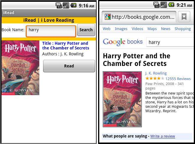 Google Book Cover Images Api ~ App inventor a muete y json