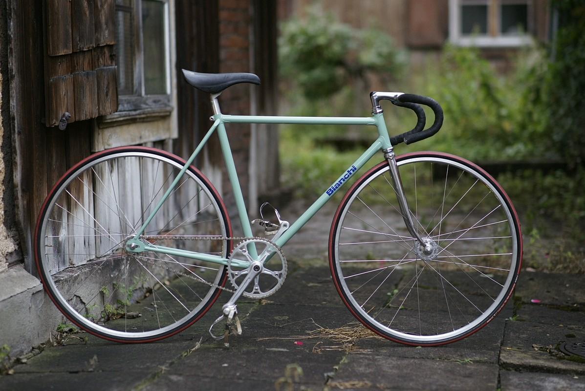 Zugzwang: Landed: Bahnrad, Fixie, track bicycle, Pista... Bianchi