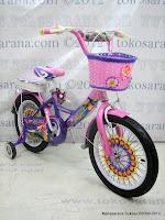 16 Inch Phoenix 16-519 Elegant Kids Bike