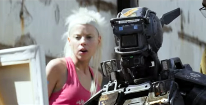 Chappie Movie Film 2015 - Sinopsis (Hugh Jackman, Sigourney Weaver)
