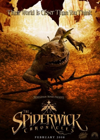 SpiderwickChroniclesPoster2 The Spiderwick Chronicles (2008) 720p BRRip 720MB