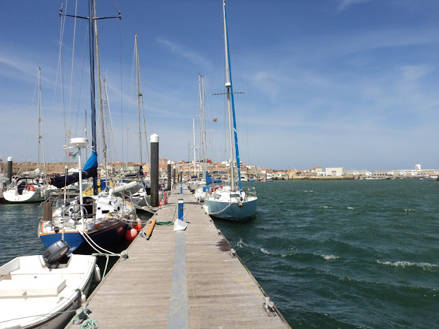 Transient Dock in Peniche
