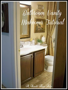 Bathroom Vanity Makeover Tutorial