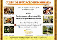 Curso de Educação Humanitária no Sítio Mundo Verde: