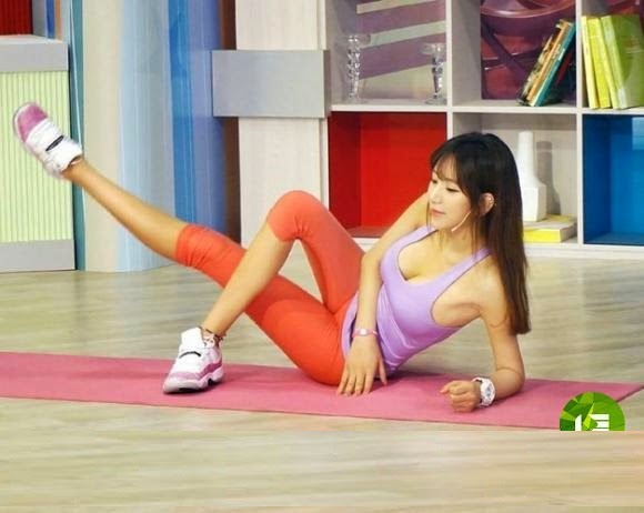 cô giáo thể dục sở hữu thân hình tuyệt đẹp