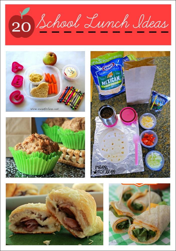 Enough School Supplies 20 School Lunch Ideas Enough
