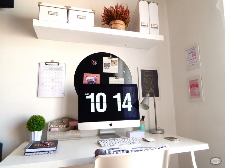 Shibar ita organizar y decorar un rinc n de trabajo for Como decorar mi escritorio de trabajo