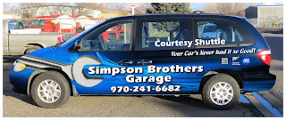 Simpson Brothers Garage Courtesy Shuttle