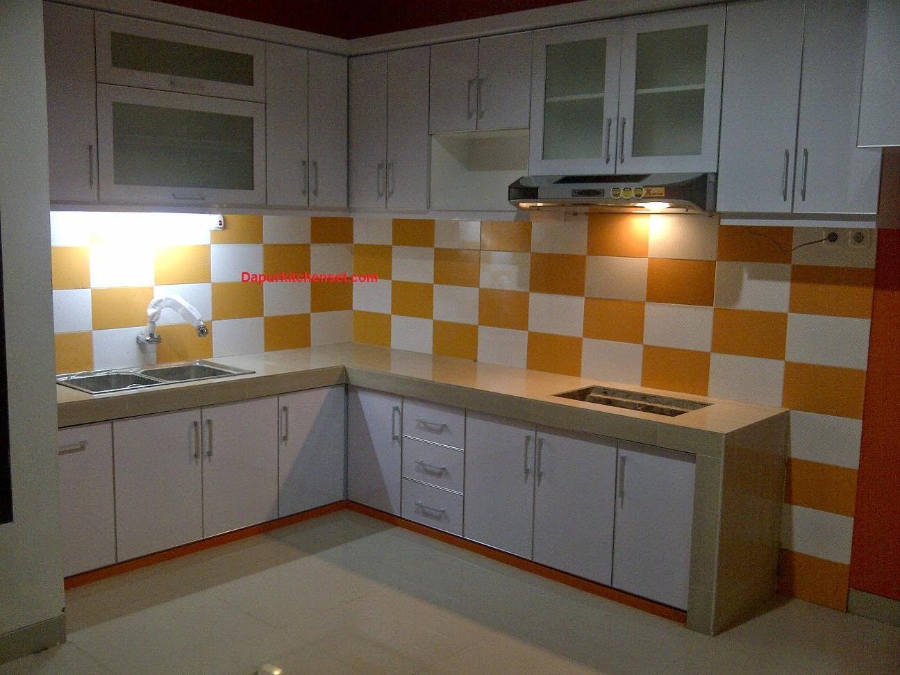 Jasa kitchen set harga kitchen set murah bekasi cikarang for Harga buat kitchen set