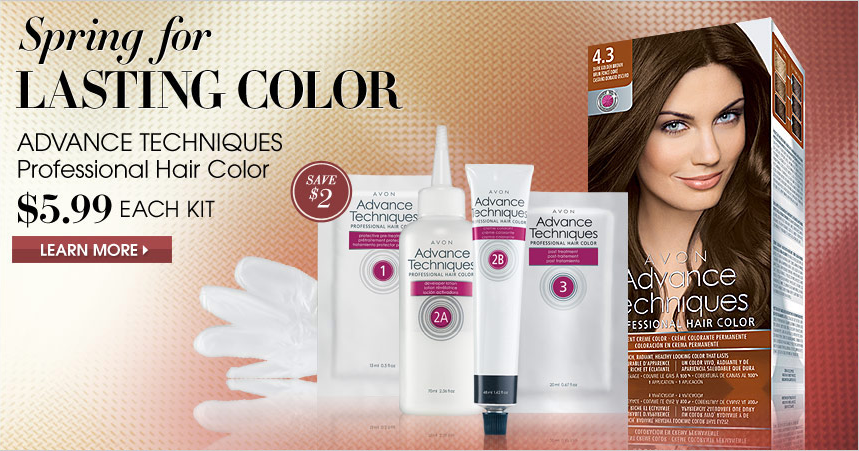 Get your Avon Advance Techniques hair color now!