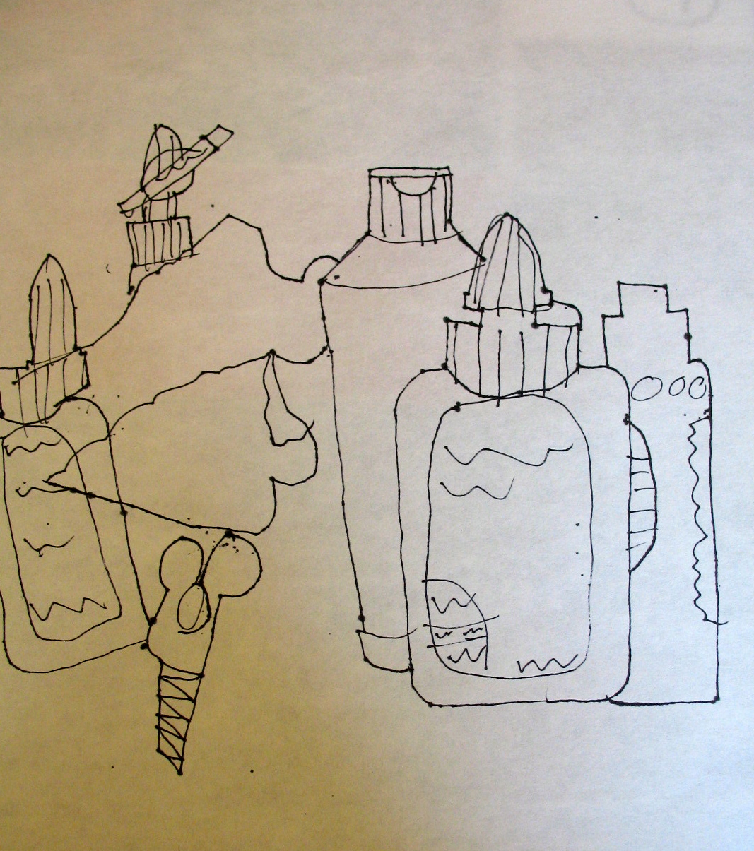 Contour Line Drawing Jobs : Adventures of an artist teacher contour line drawing