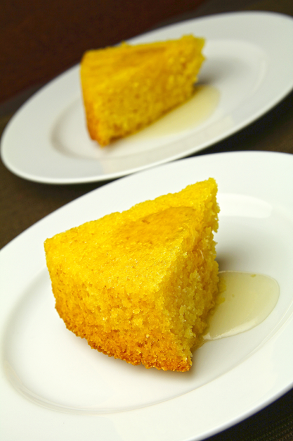 Why july is my special month and a lemon polenta cake