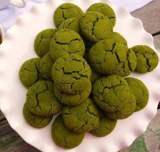 Resep Kue Green Tea Cookies Enak Dan Renyah