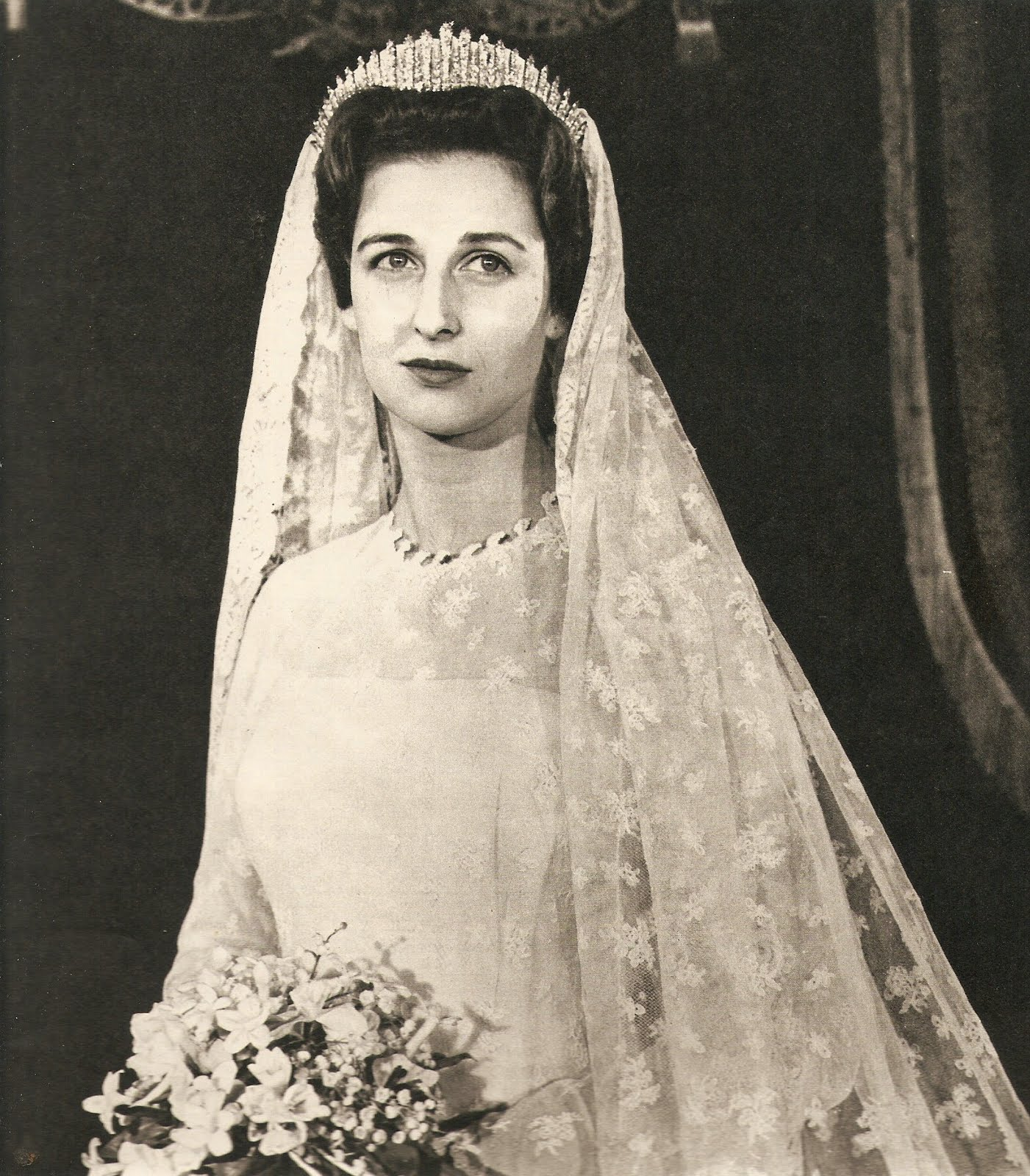 The Royal Order of Sartorial Splendor: Wedding Wednesday: Princess ...