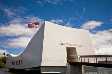arizona memorial - oahu, hi