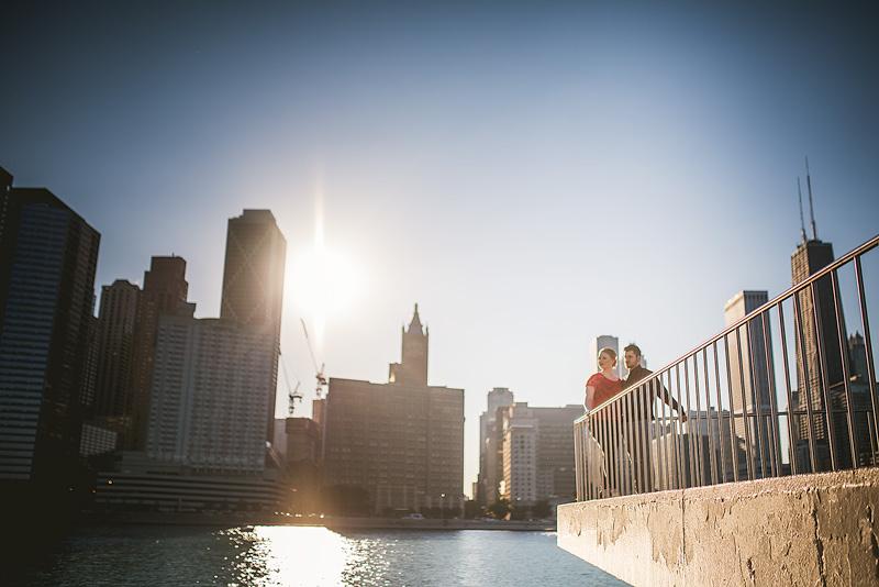 Chicago Anniversary Portrait
