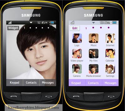 Minwoo Samsung Corby 2 Theme