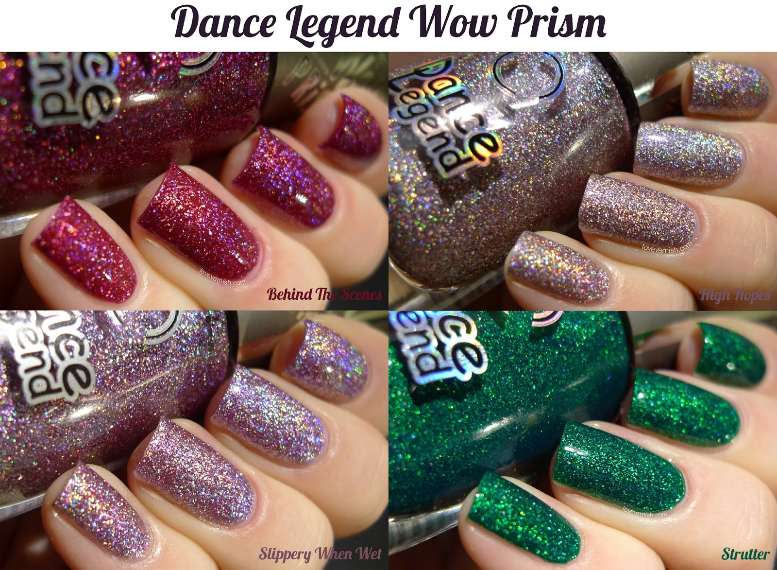 Dance Legend Wow Prism 4 shades